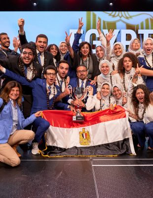 Cairo University Team Sponsored to the 2019 Enactus World Cup by Orascom Construction and Orange Egypt Wins the Social Innovation Enactus World Cup Championship