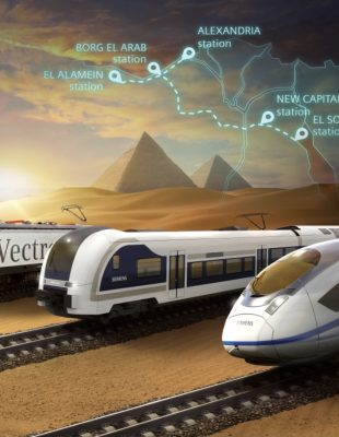 Orascom Construction Consortium Signs MOU to Build Egypt's First High-Speed Rail System