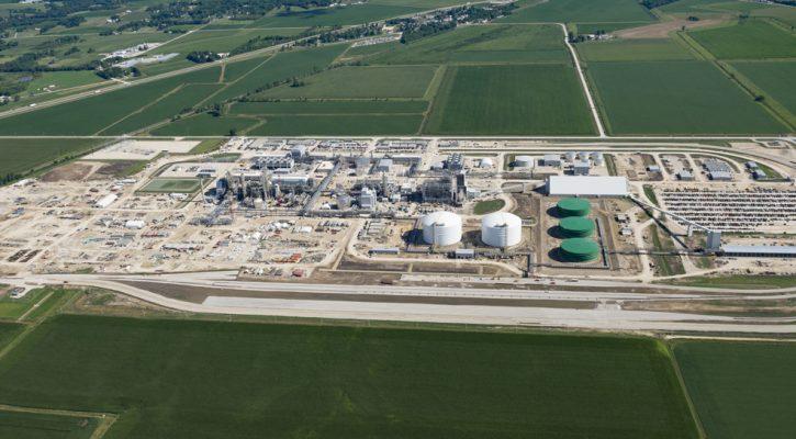 Iowa Fertilizer Plant